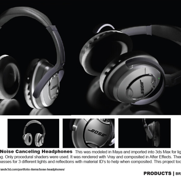 Bose Headphones Ad