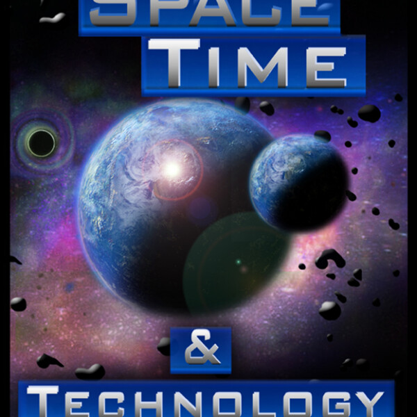 Space Time And Technology Poster Cover