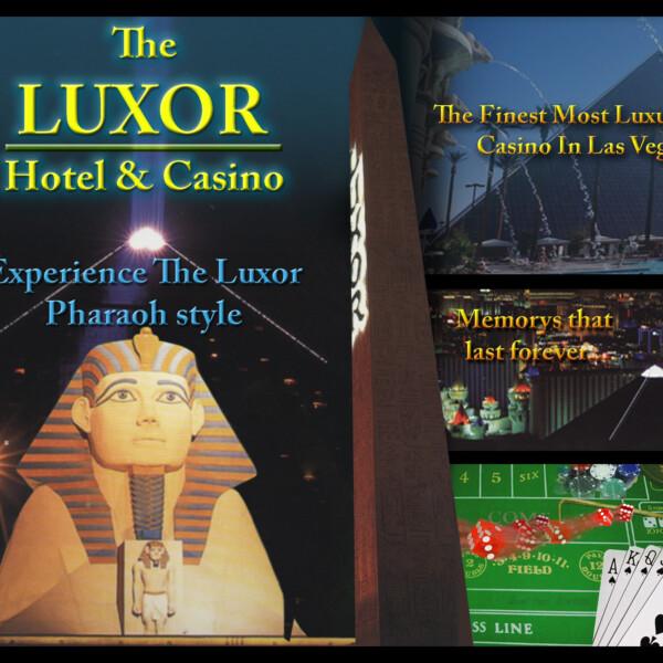 Luxor Casino Poster Ad
