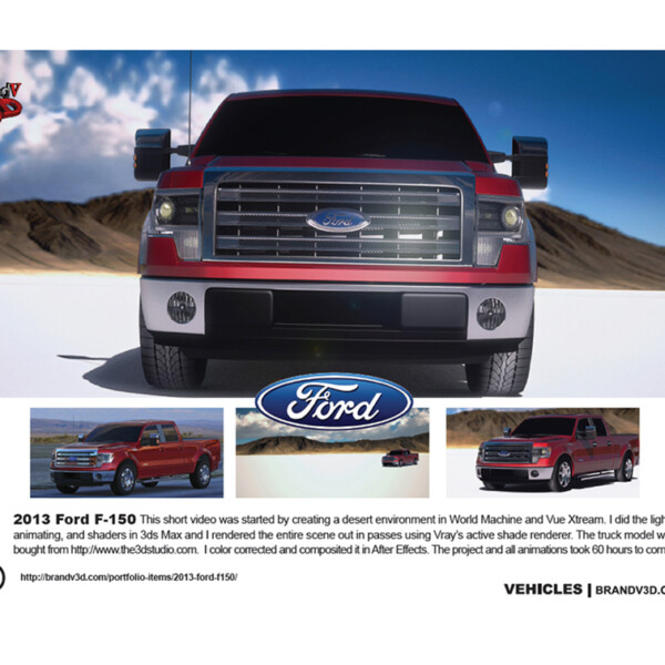 2013 Ford F-150 Ad