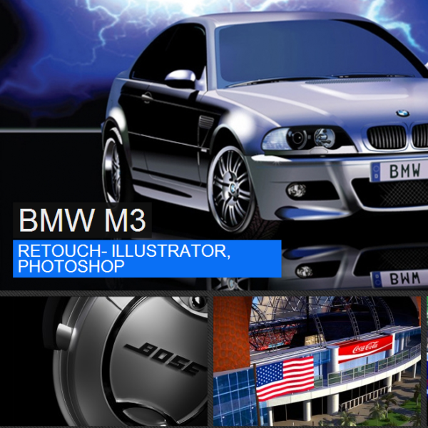 3D and CGI Artist Website Design