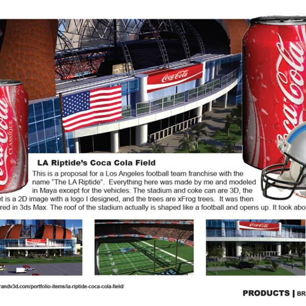 LA Riptide's Coca Cola Field