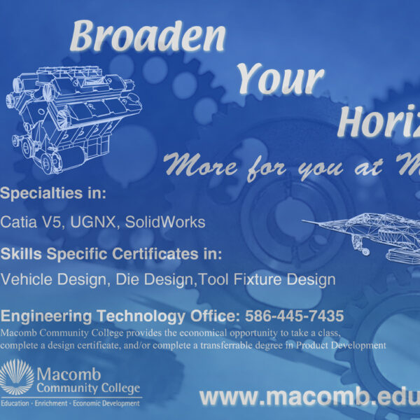 Macomb Community College Poster