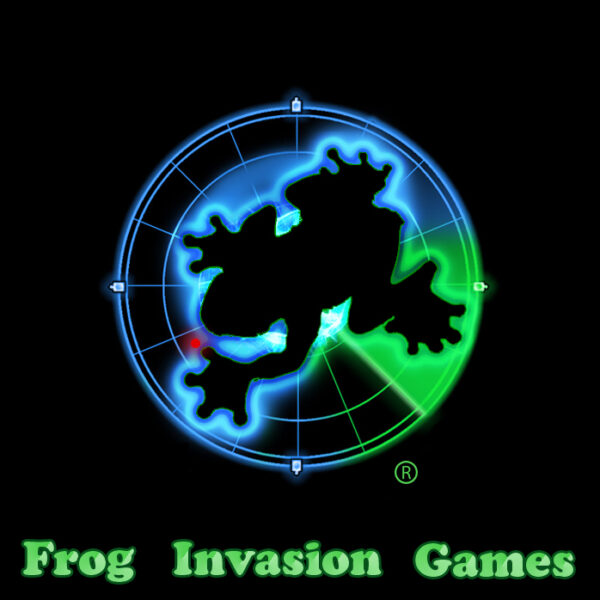 Frog Invasion Games Logo