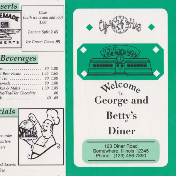 George and Betty's Diner