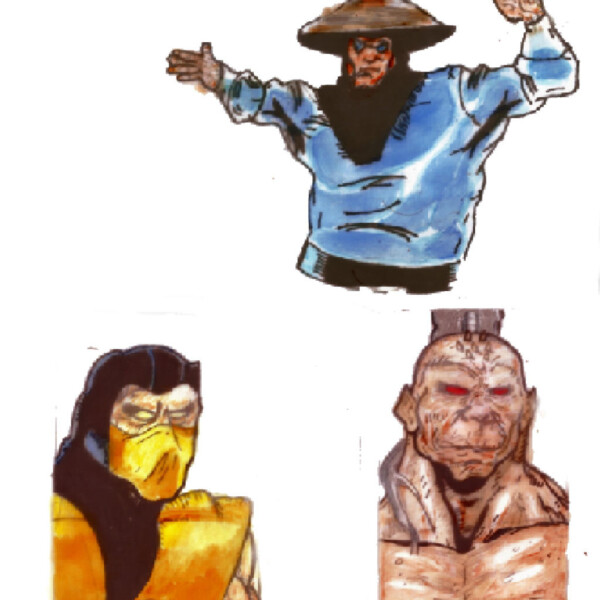 Mortal Kombat Tattoo Designs